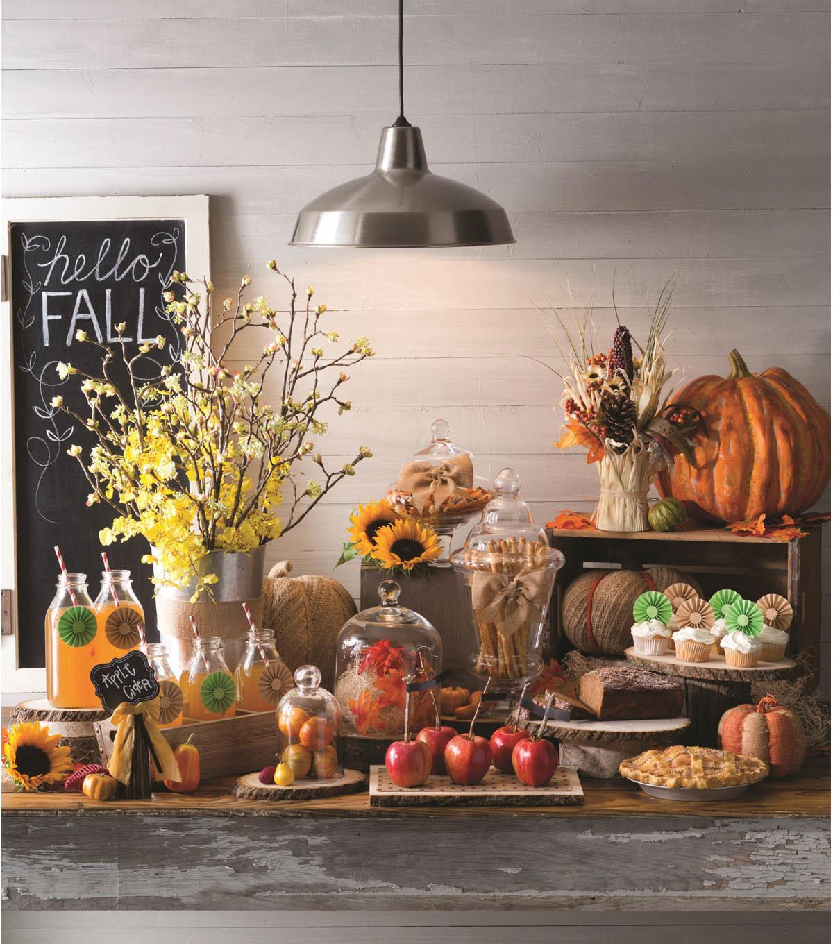 Fall Table Setting Decorating Ideas Ann