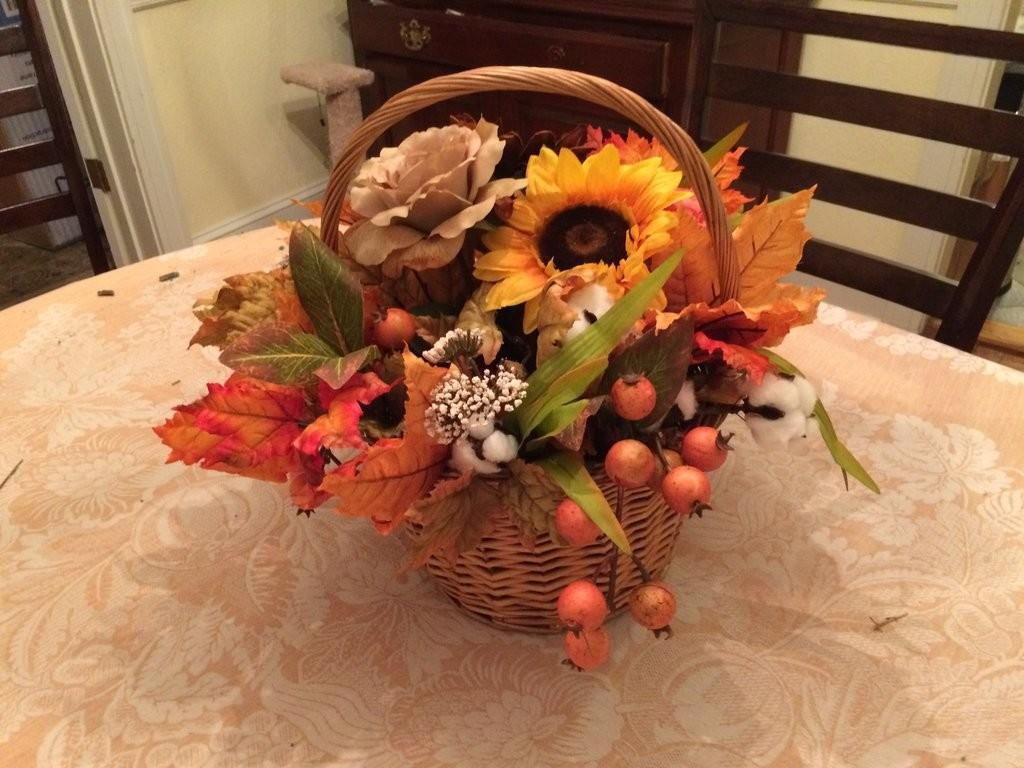 Fall Thanksgiving Center Piece Divinenightshade