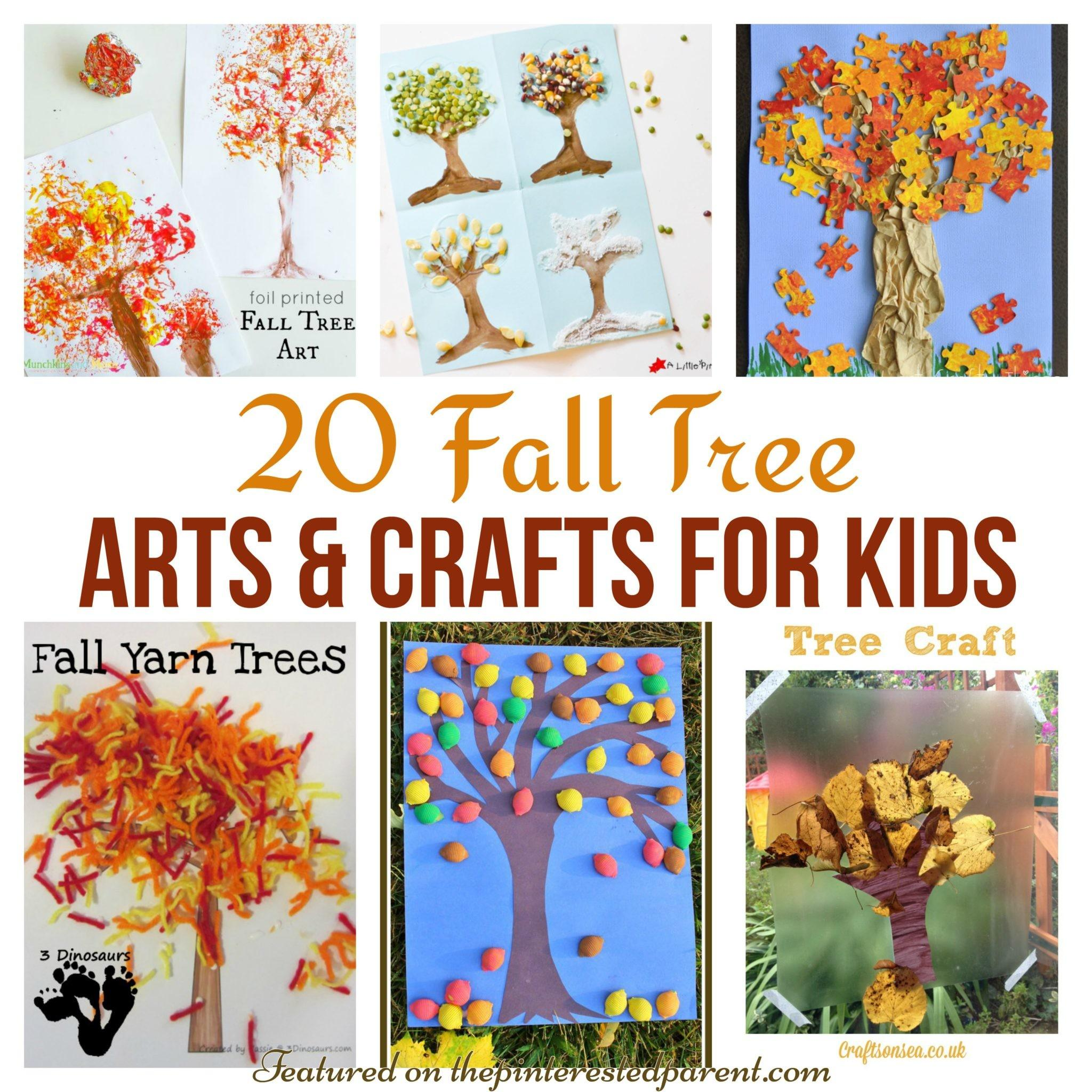 Fall Tree Arts Crafts Ideas Kids