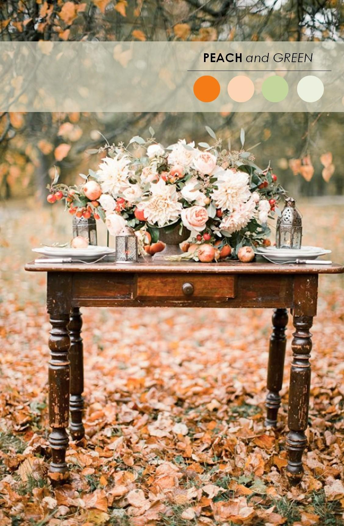 Fall Wedding Color Palettes Ultimate Guide Weddbook