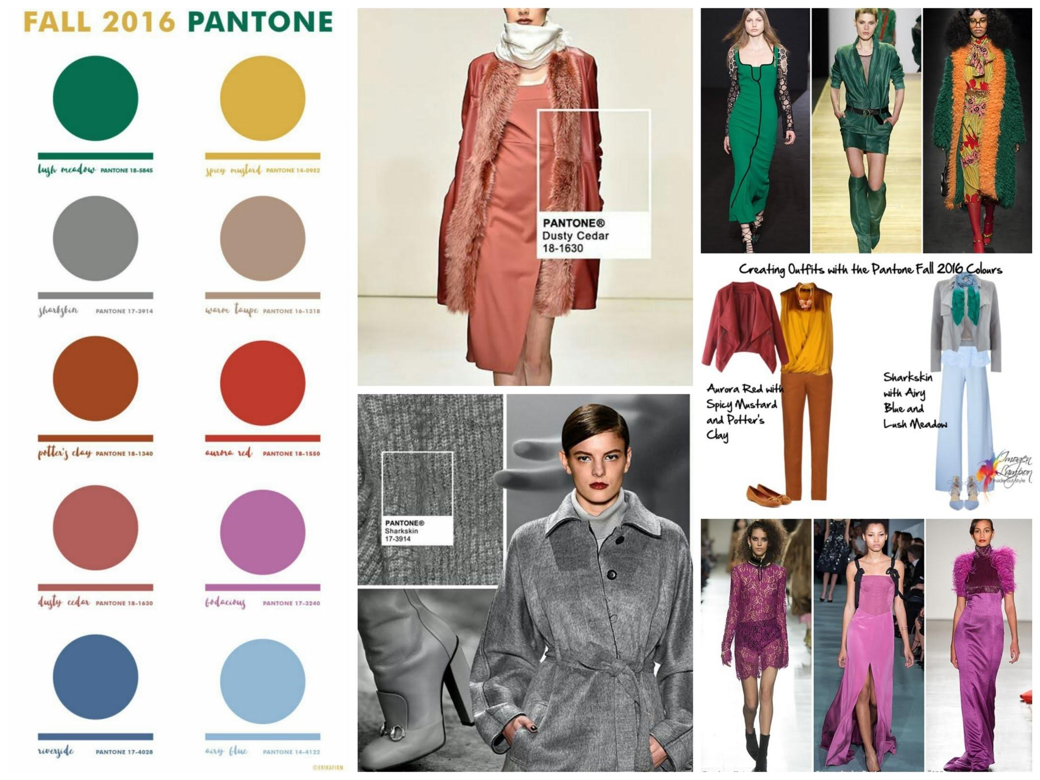 Fall Winter 2016 2017 Color Trends Top Pantone Colors