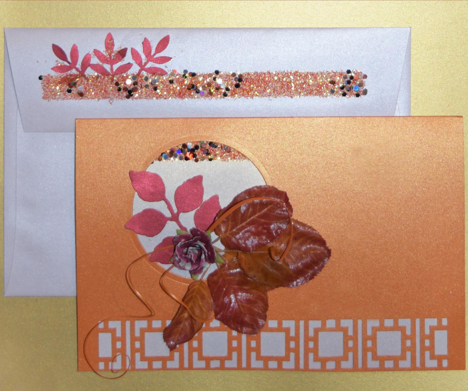 Falling Leaves Giving Thanks Diy Card Making Ideas