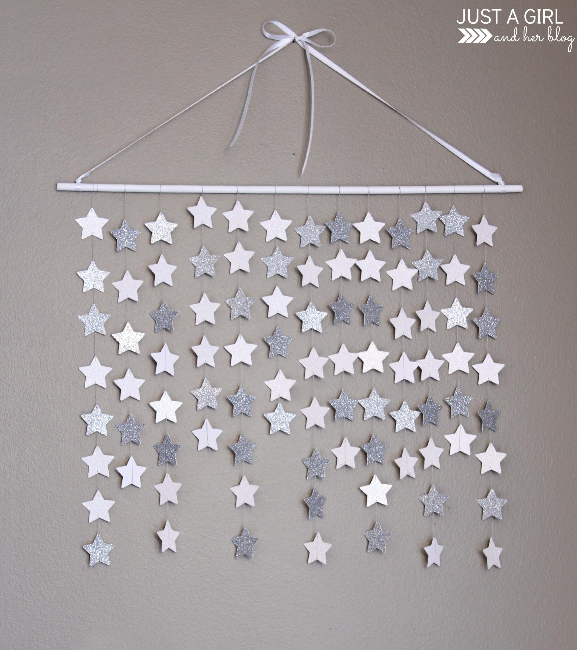 Falling Star Wall Hanging Just Girl Her Blog