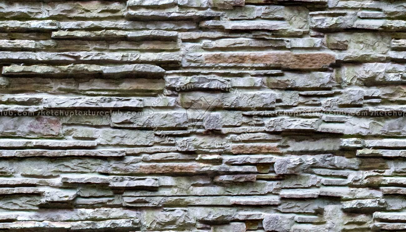 Fallingwater House Stacked Slabs Walls Stone Texture