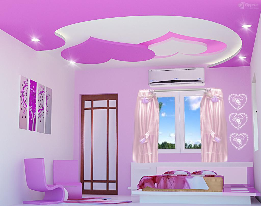 False Ceiling Design Children Bedroom