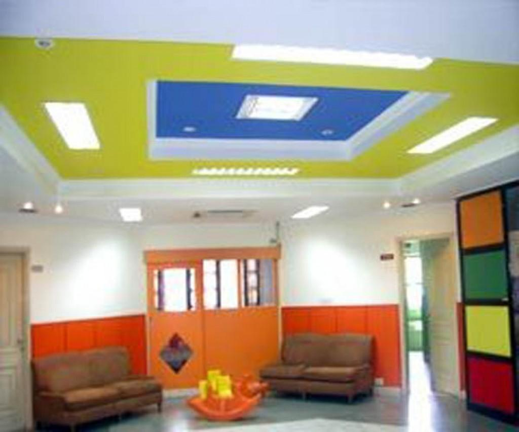 False Ceiling Design Children Bedroom Decorate House