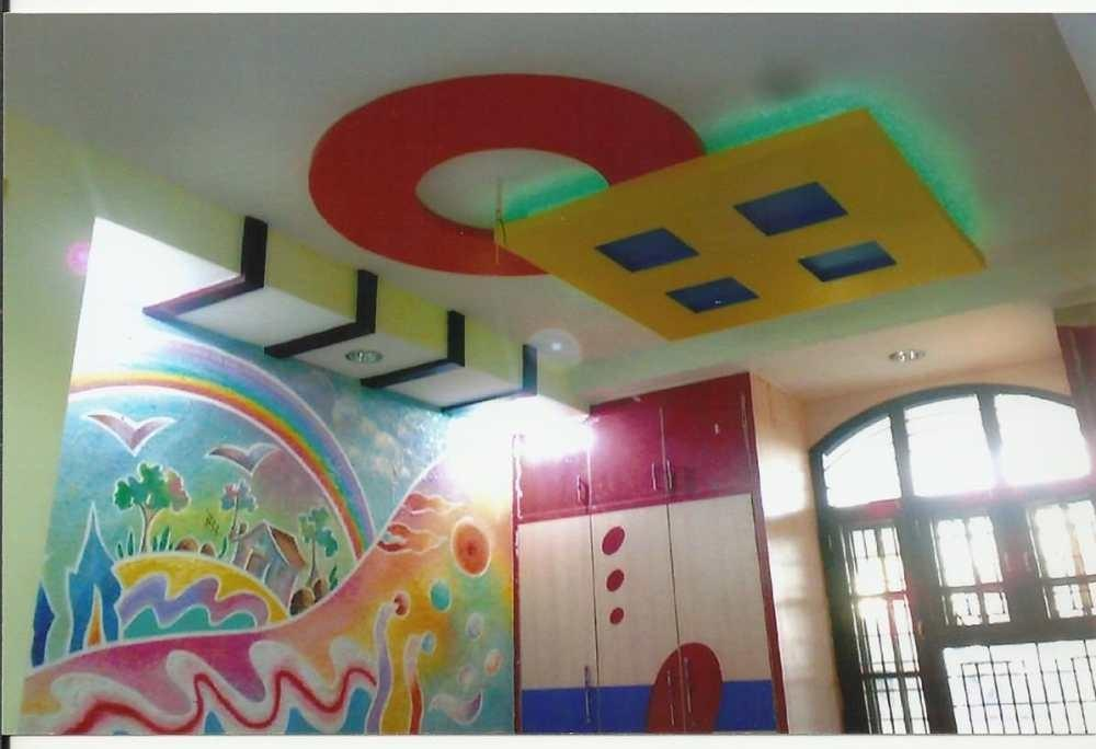 False Ceiling Kids Bedroom Residance Office