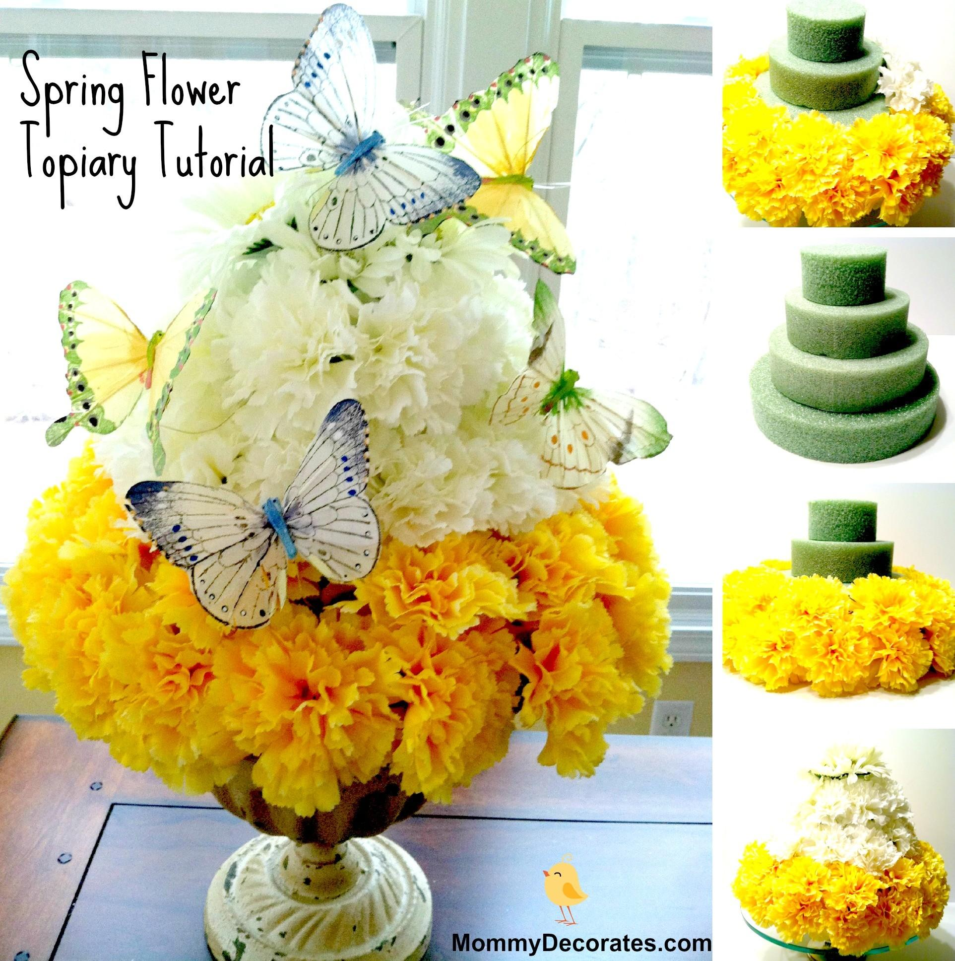 Families Make Easy Diy Spring Time Flower Cake Today