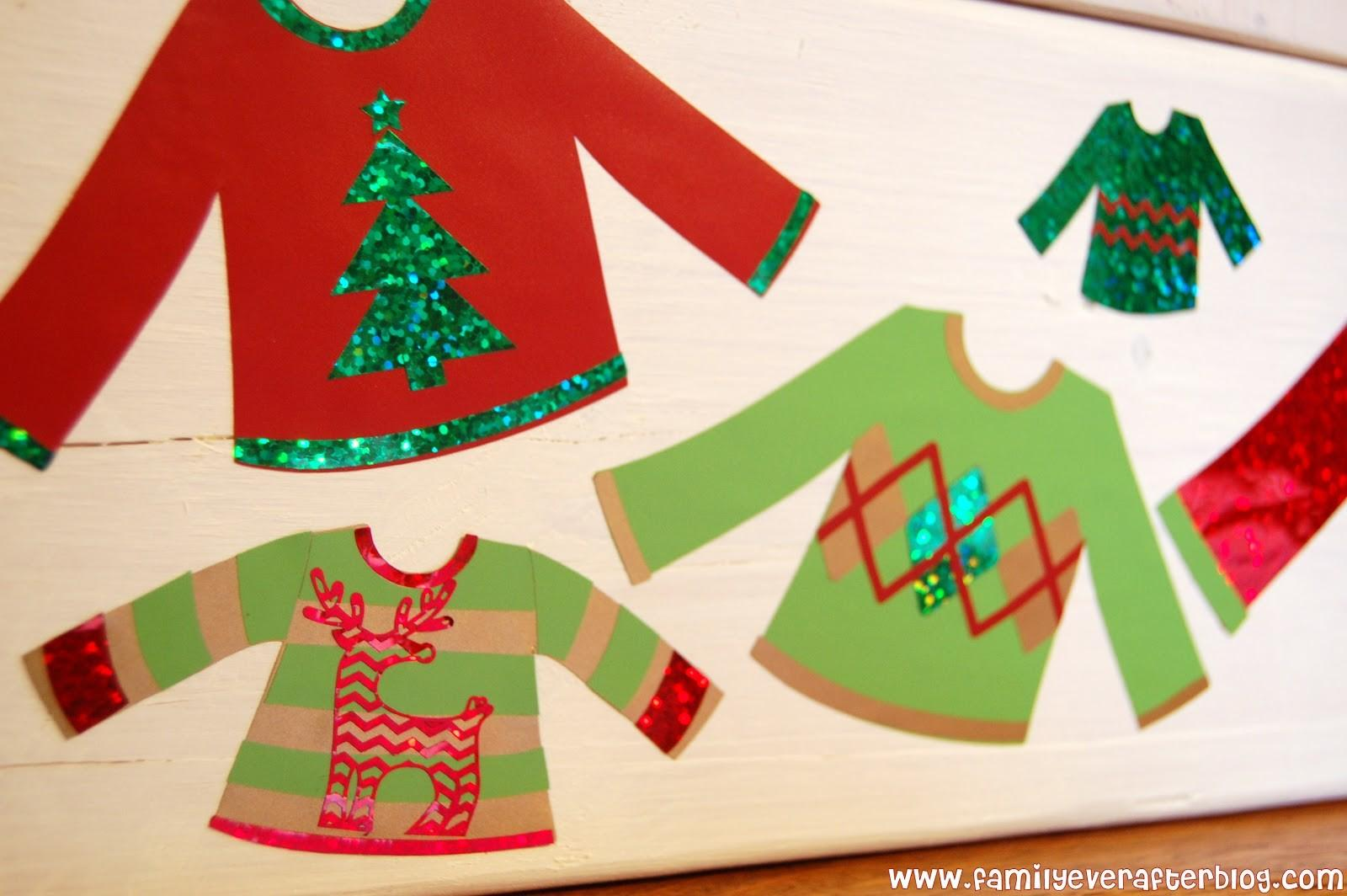 Family Ever After Ugly Sweater Party Ideas