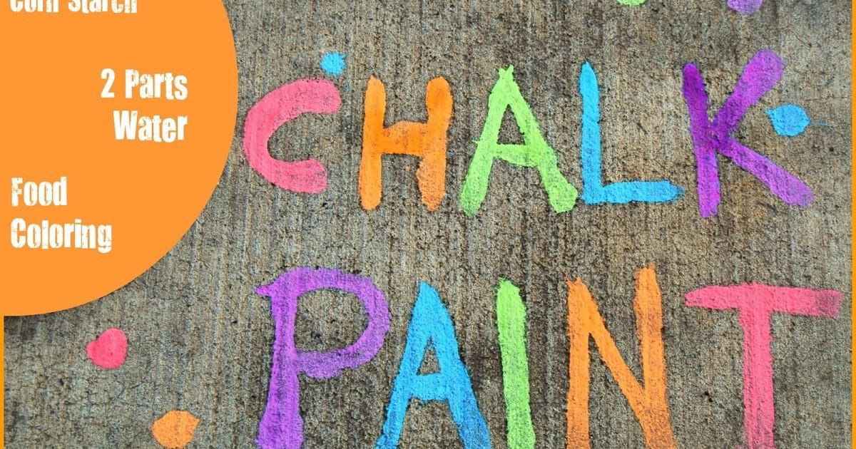 Family Plays Together Chalk Paint