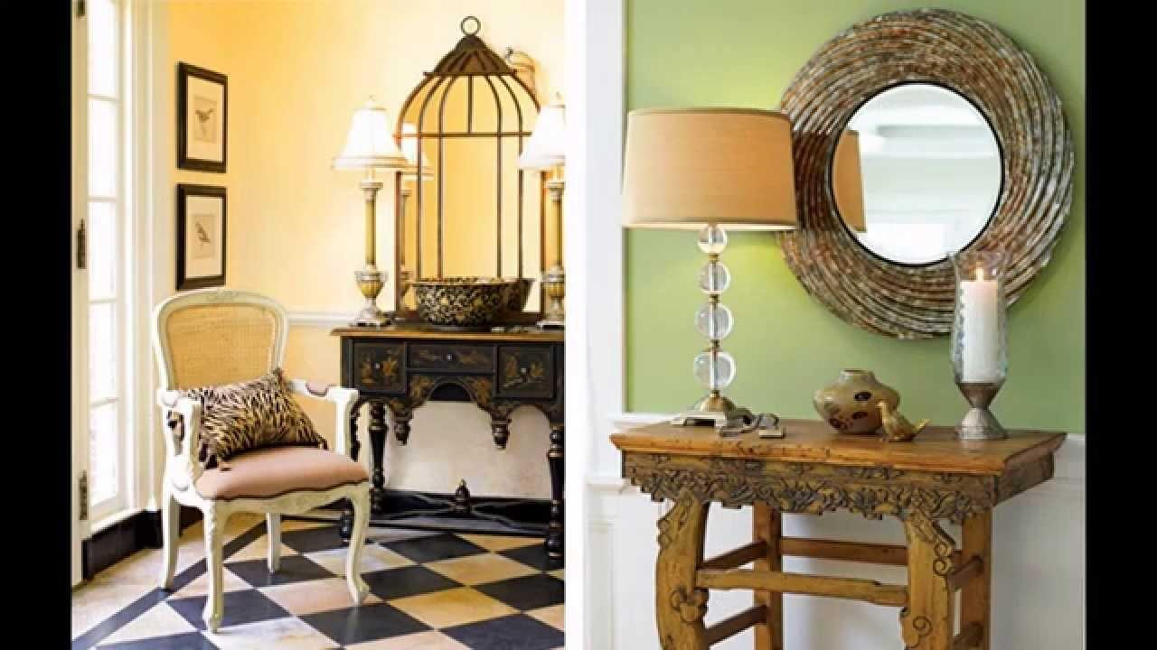 Fancy Decoration Ideas Home Entrance Furniture