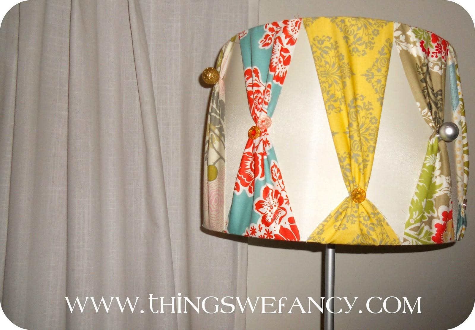Fancy Diy Lampshade Show Decorating