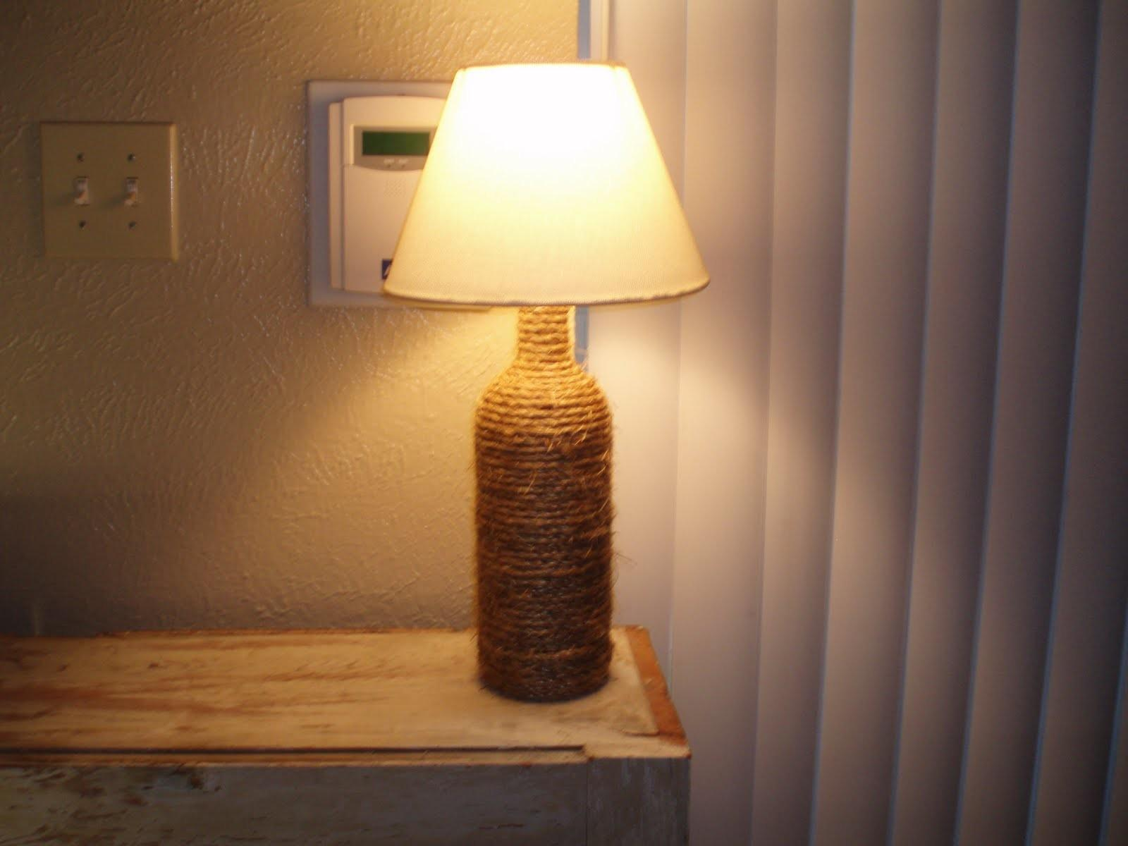 Fantastic Diy Glass Bottle Lamps Amaze