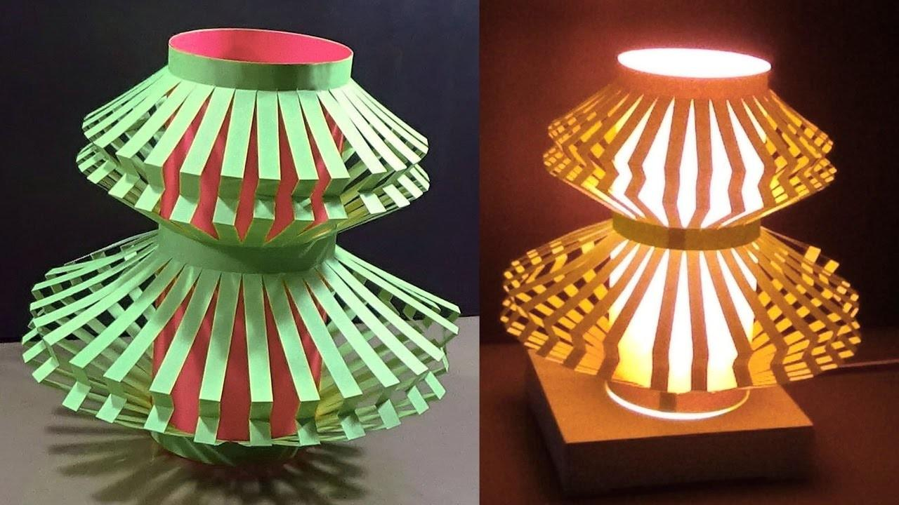Fantastic Diy Home Decor Paper Light Shade