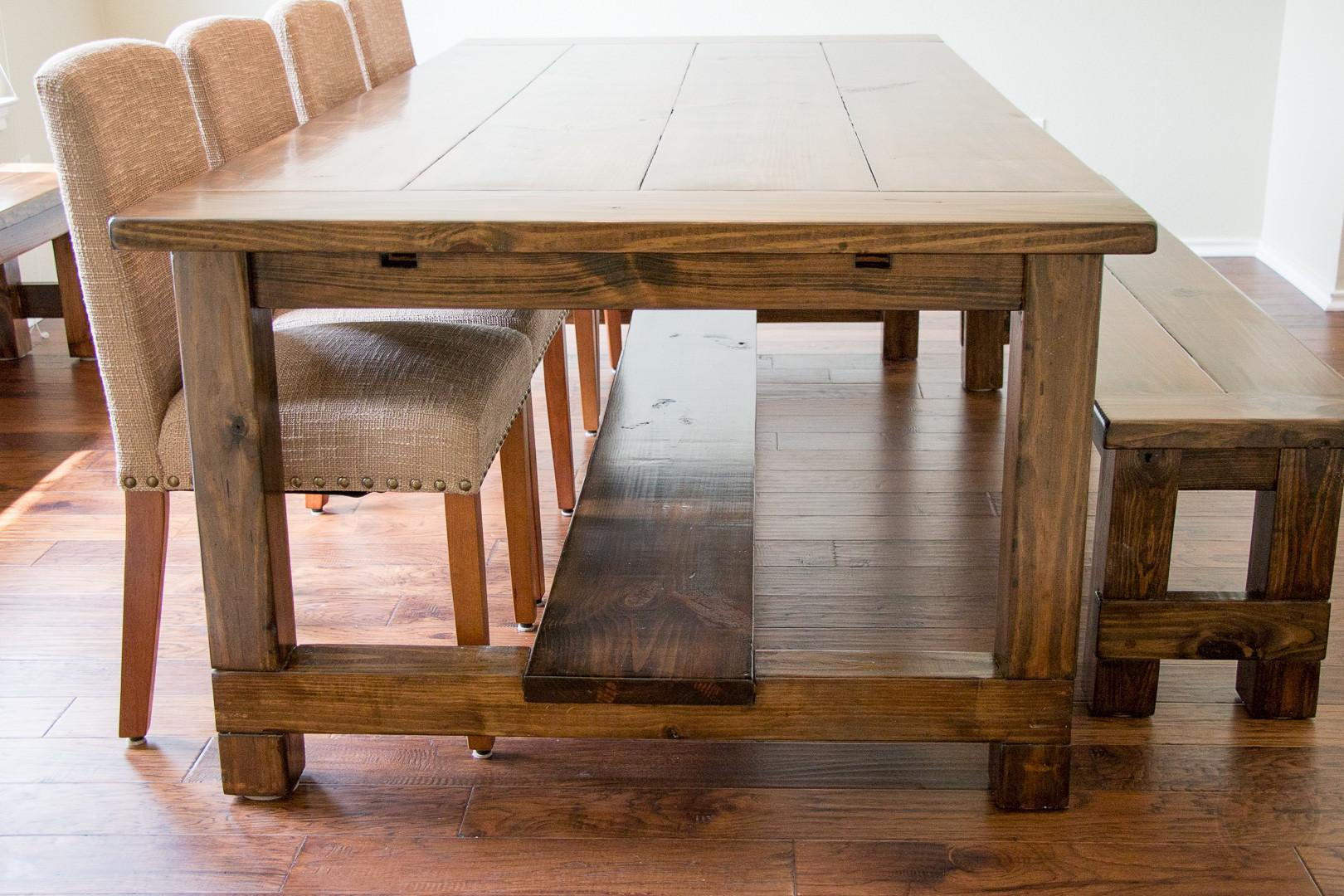 Farm Style Dining Room Tables Country Farmhouse