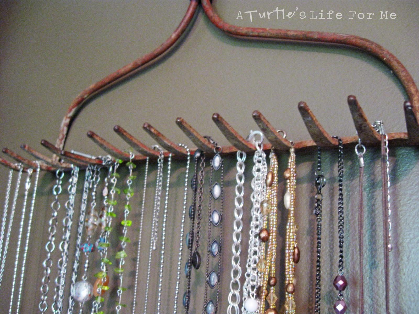 Farm Tool Necklace Hanger Turtle Life