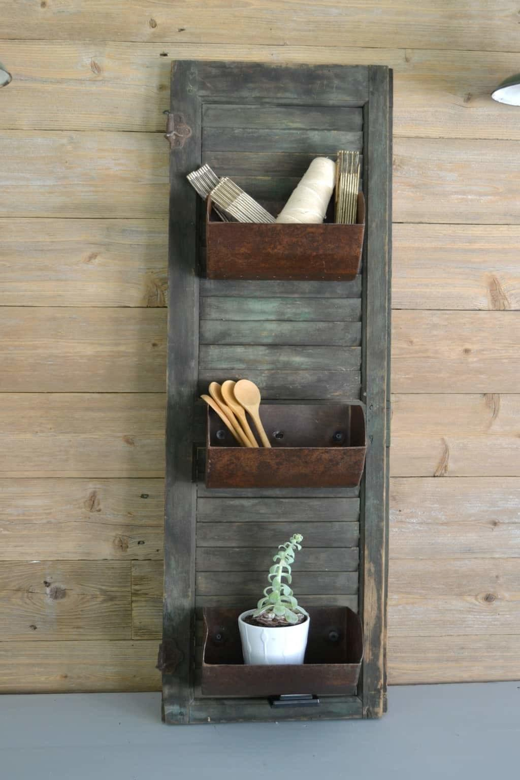 Farmhouse Storage Diy Grain Bin Organizer Creative Days