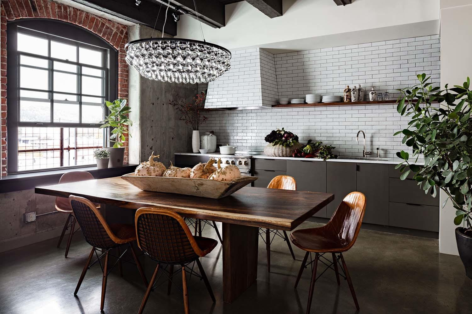Fascinating Industrial Style Loft Apartment Renovation