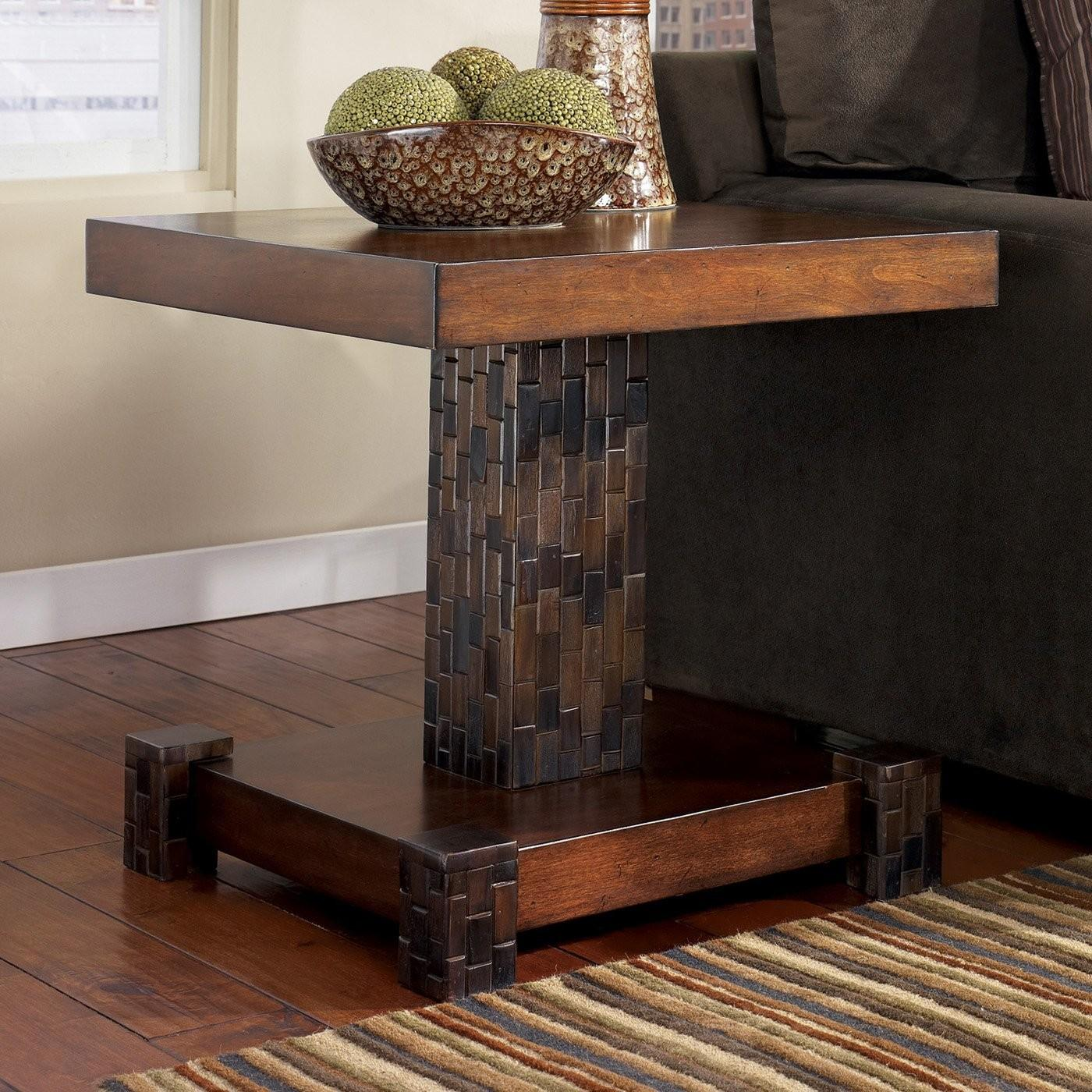 Fascinating Reclaimed Wooden Single Stand Entryway Table