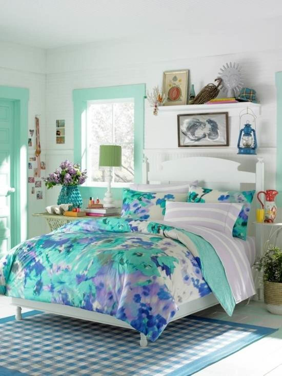 Fascinating Teenage Girl Bedroom Themes Interior
