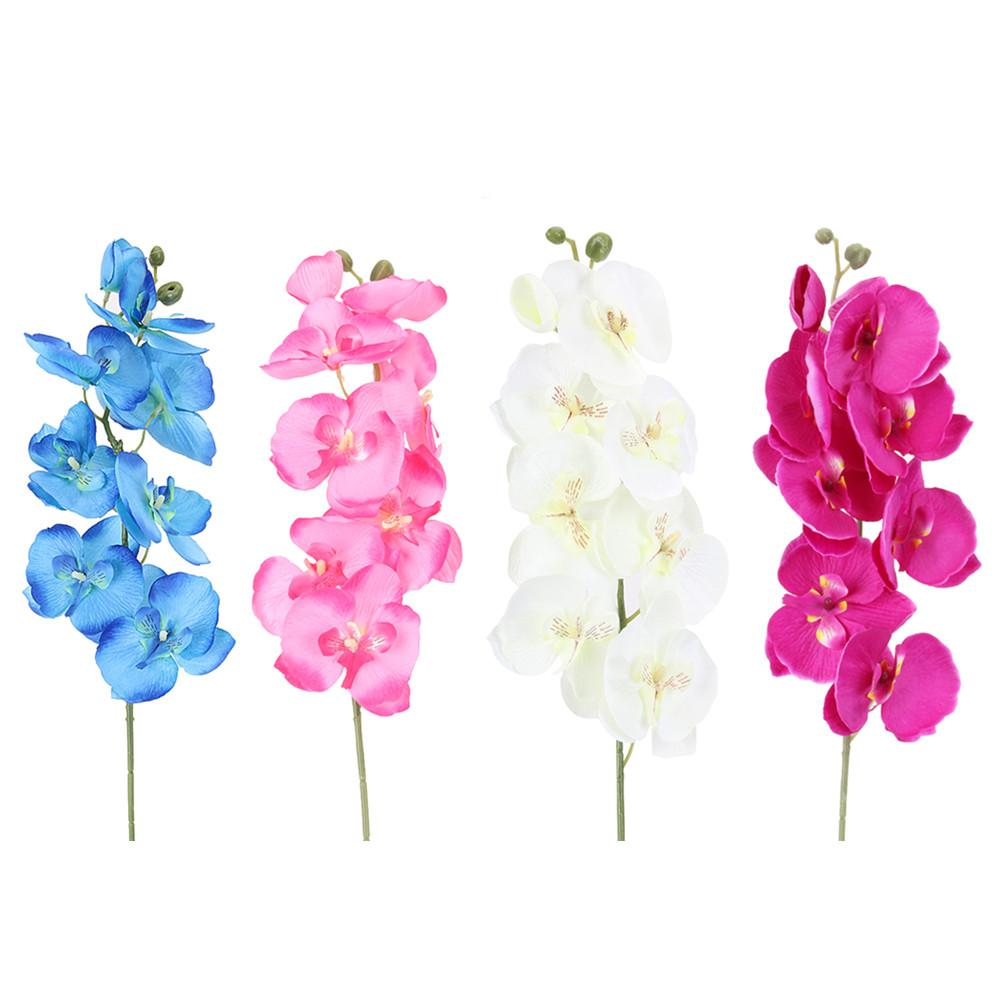 Fashion Orchid Artificial Flowers Diy Butterfly