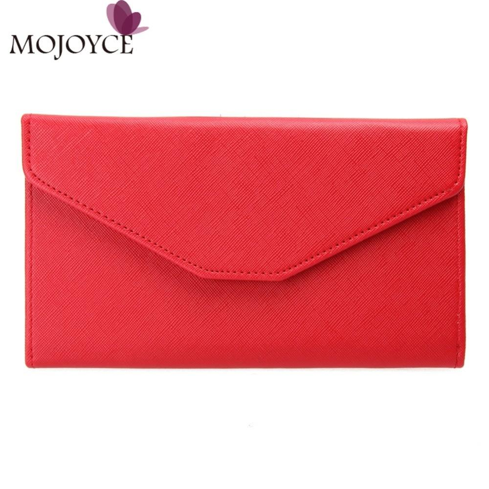 Fashion Women Envelope Wallet Clutch Multifunction Phone