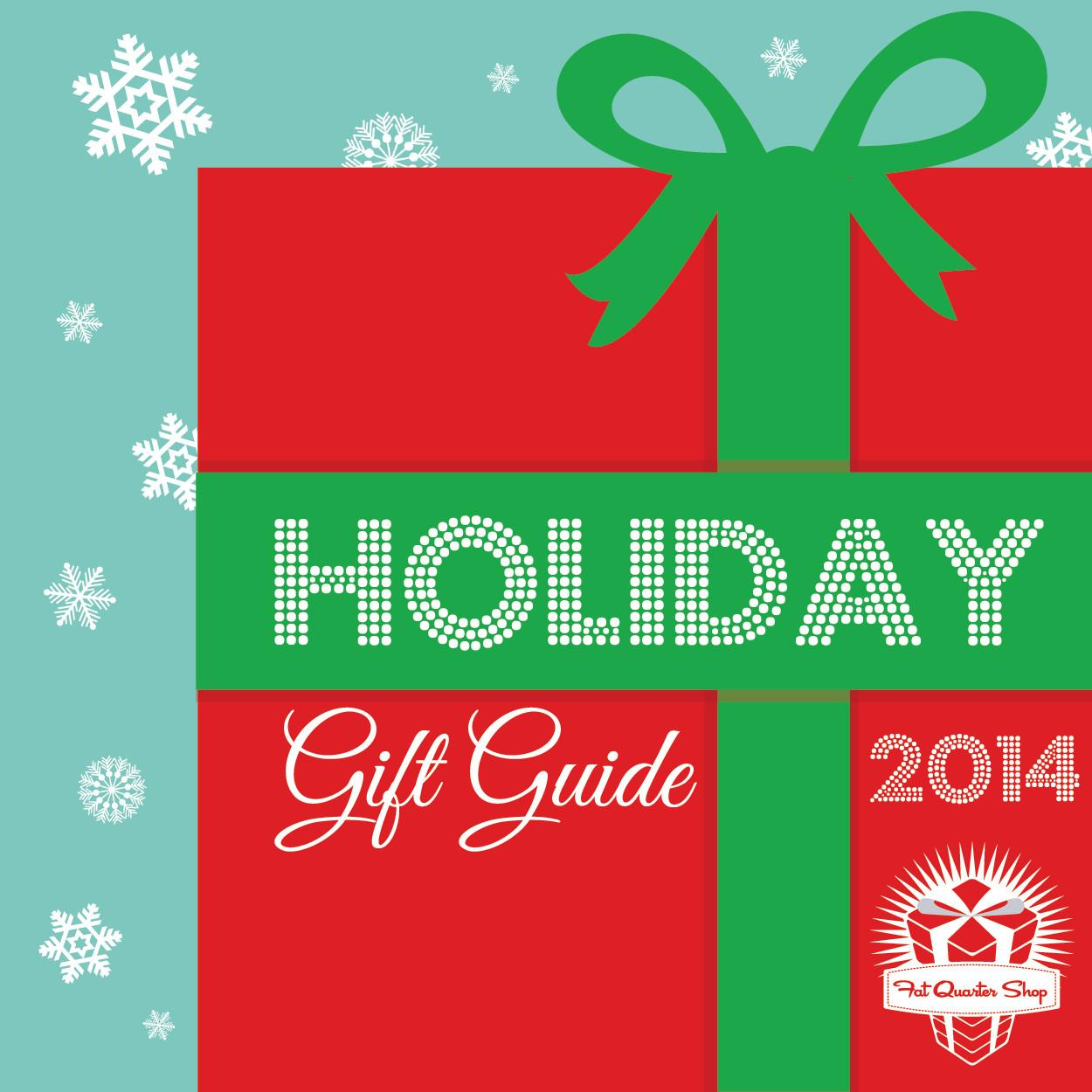 Fat Quarter Shop Jolly Jabber Holiday Gift Guide