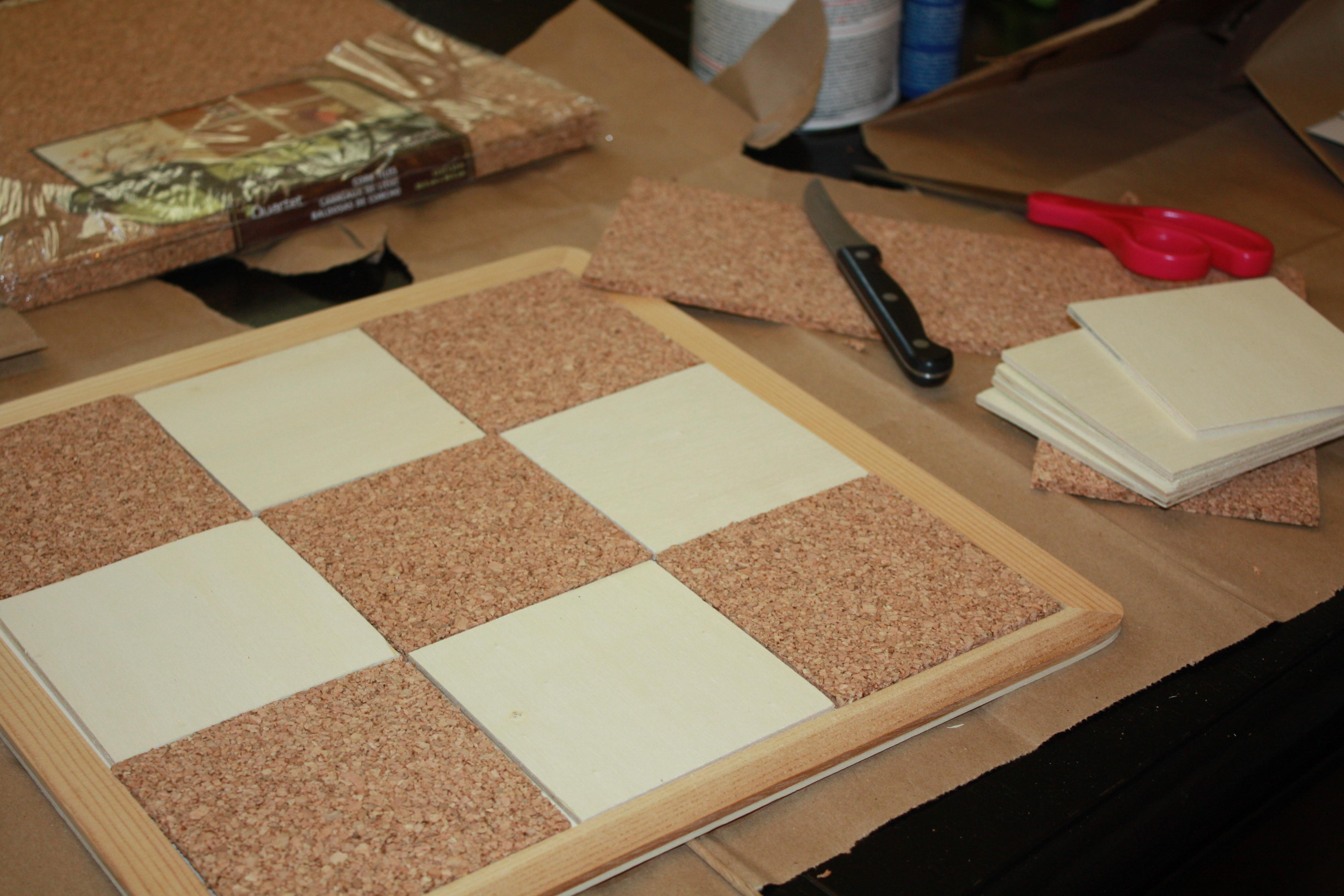 Father Day Diy Cork Magnetic Board