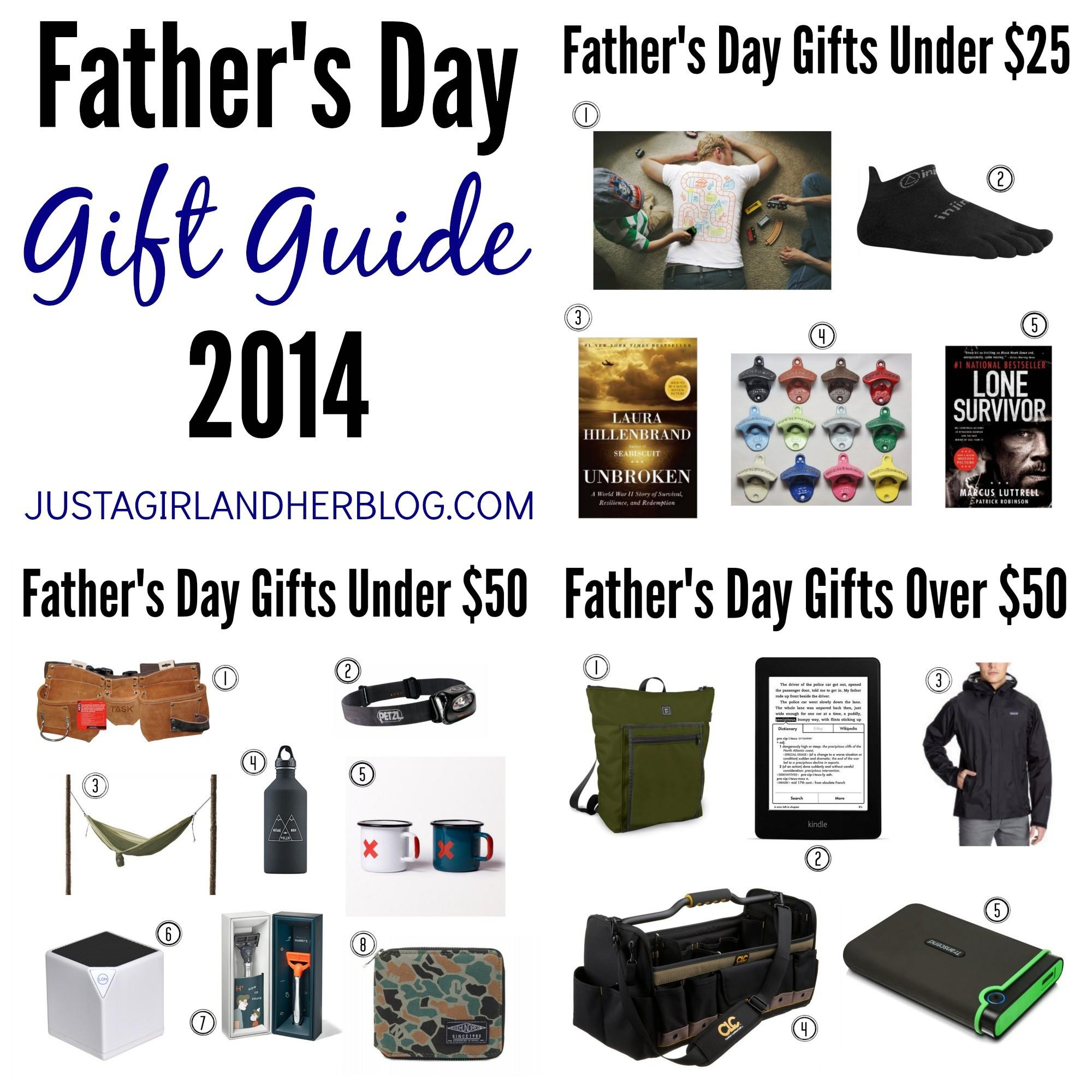 Father Day Gift Guide 2014 Just Girl Her Blog