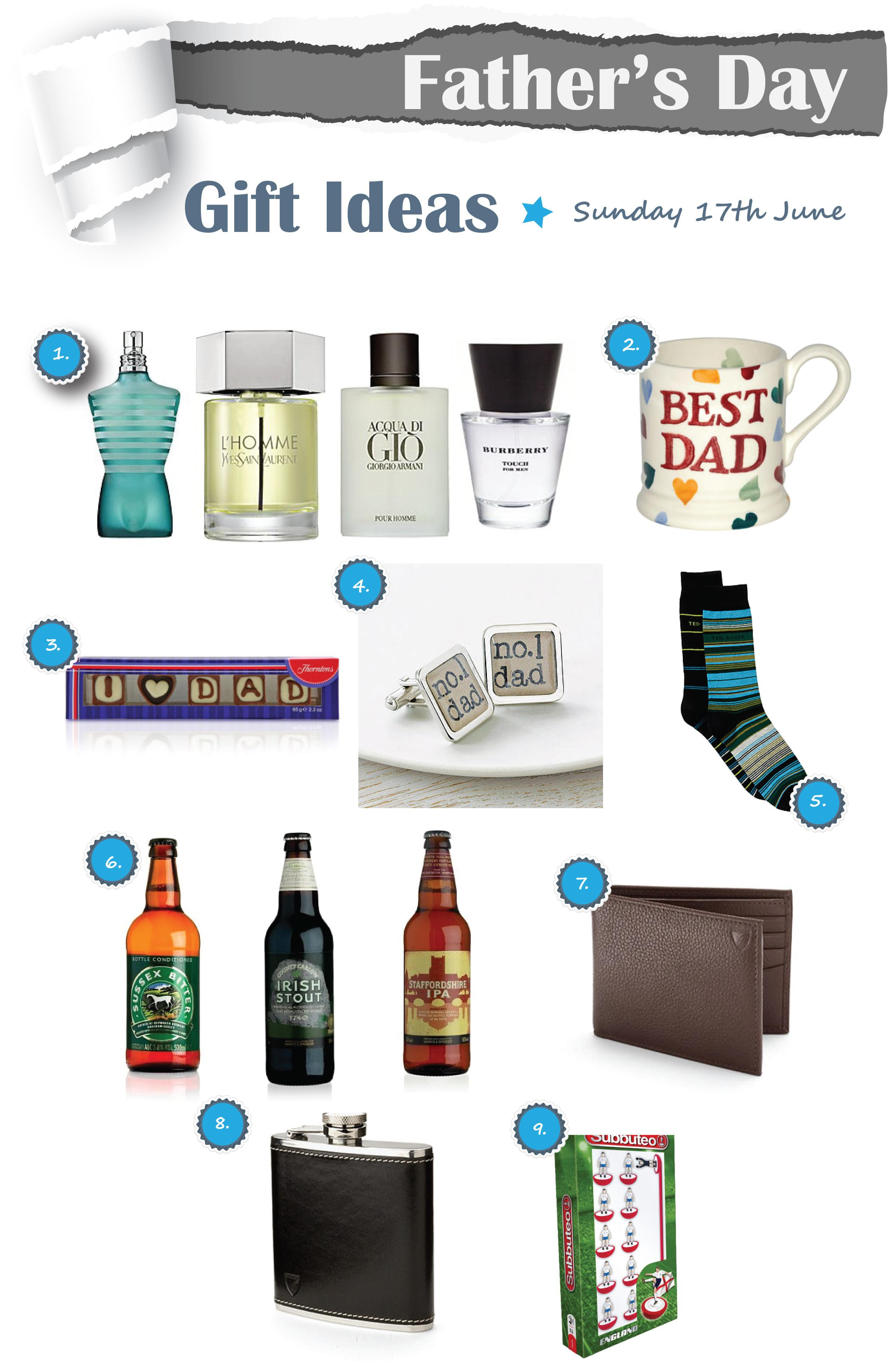 Father Day Gift Ideas Sunday 17th June 2012 Bath