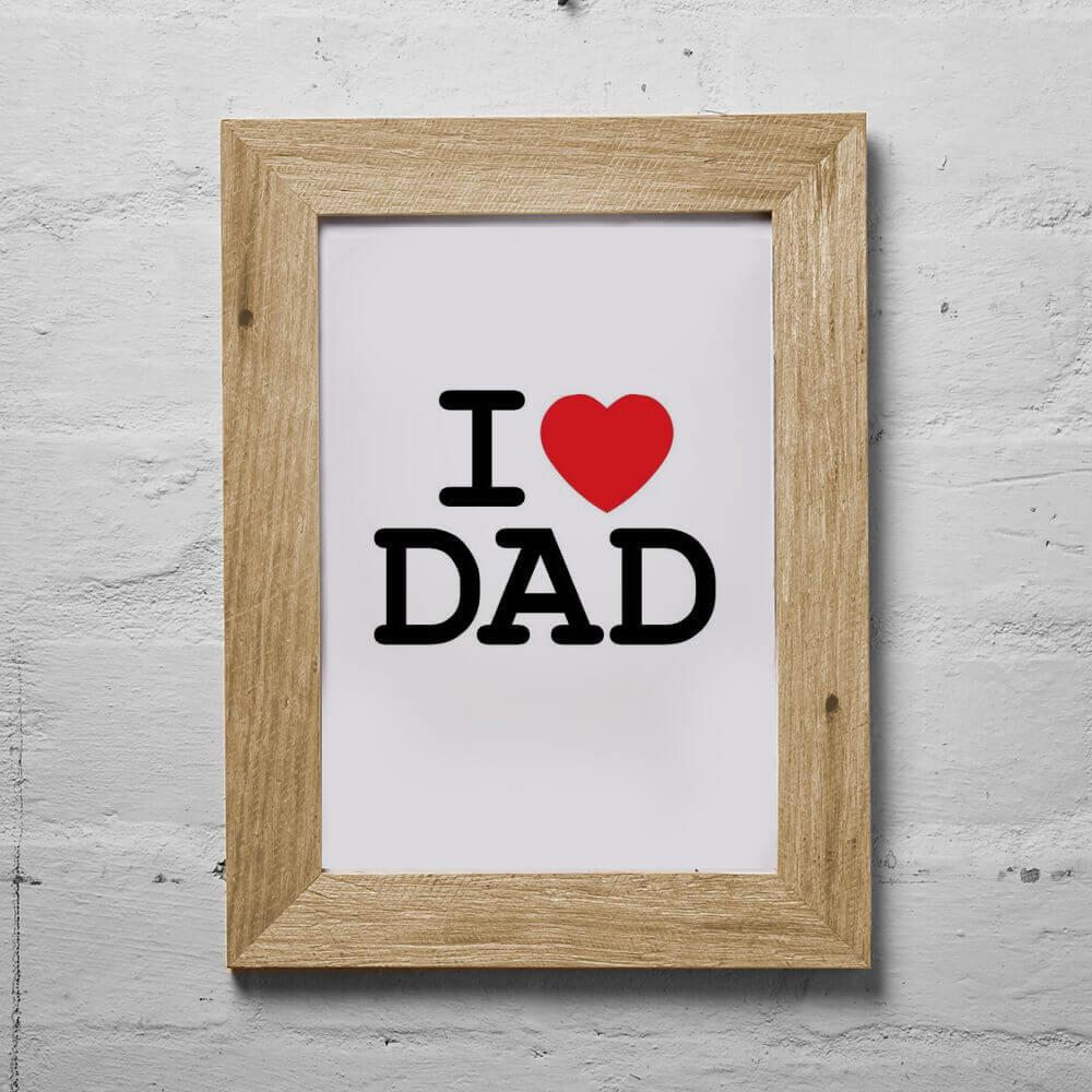 Father Day Gift Reclaimed Timber Frame