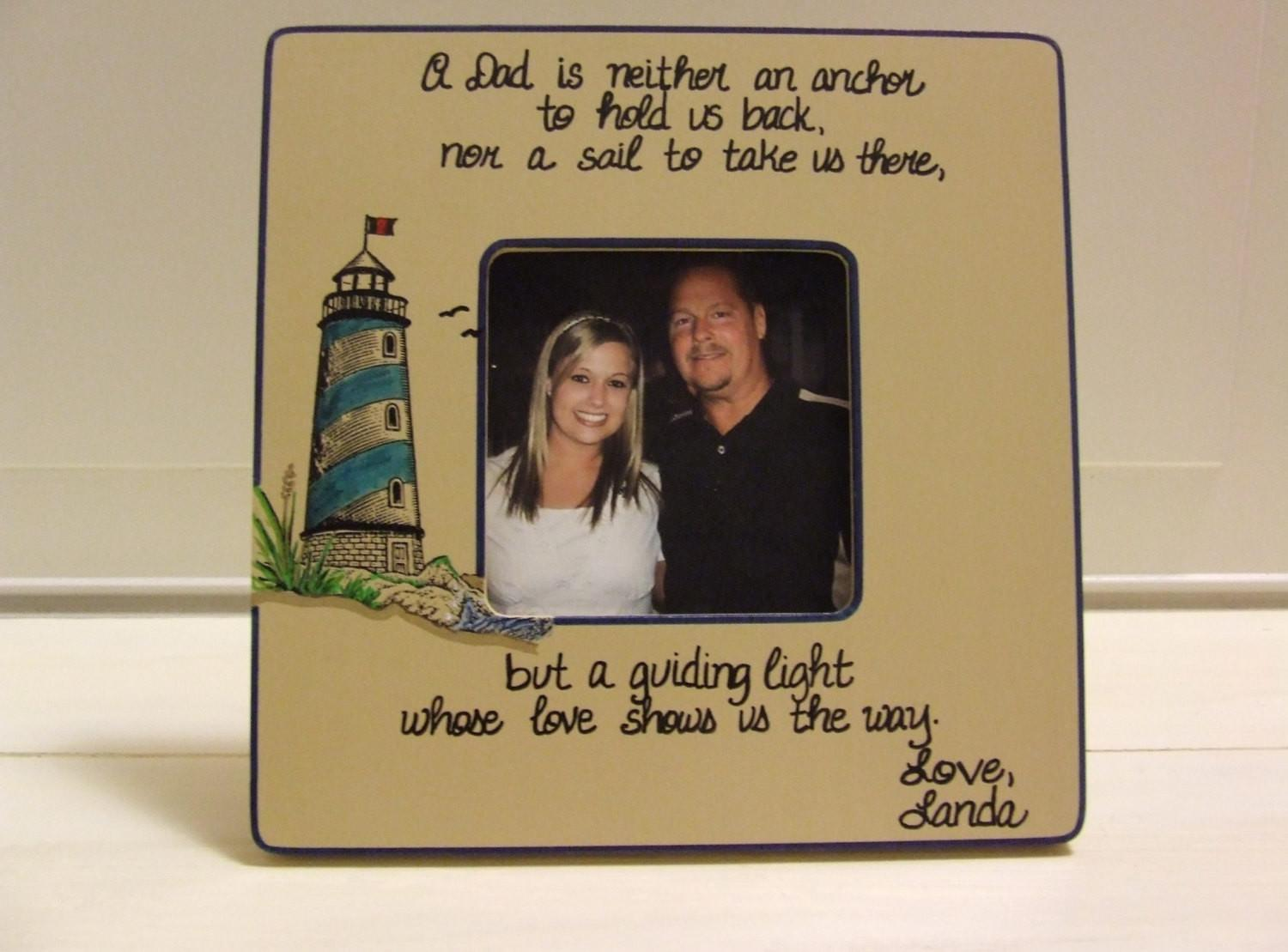 Father Day Gifts Gift Lighthouse Nautical Frame