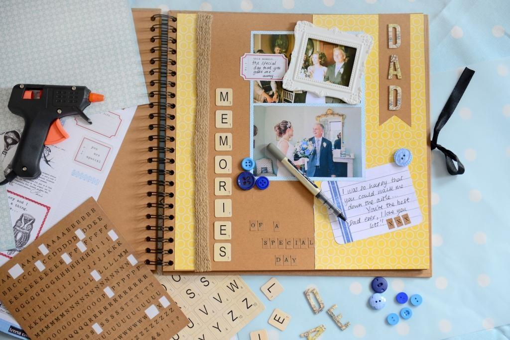 Father Day Scrapbook Hobbycraft Blog