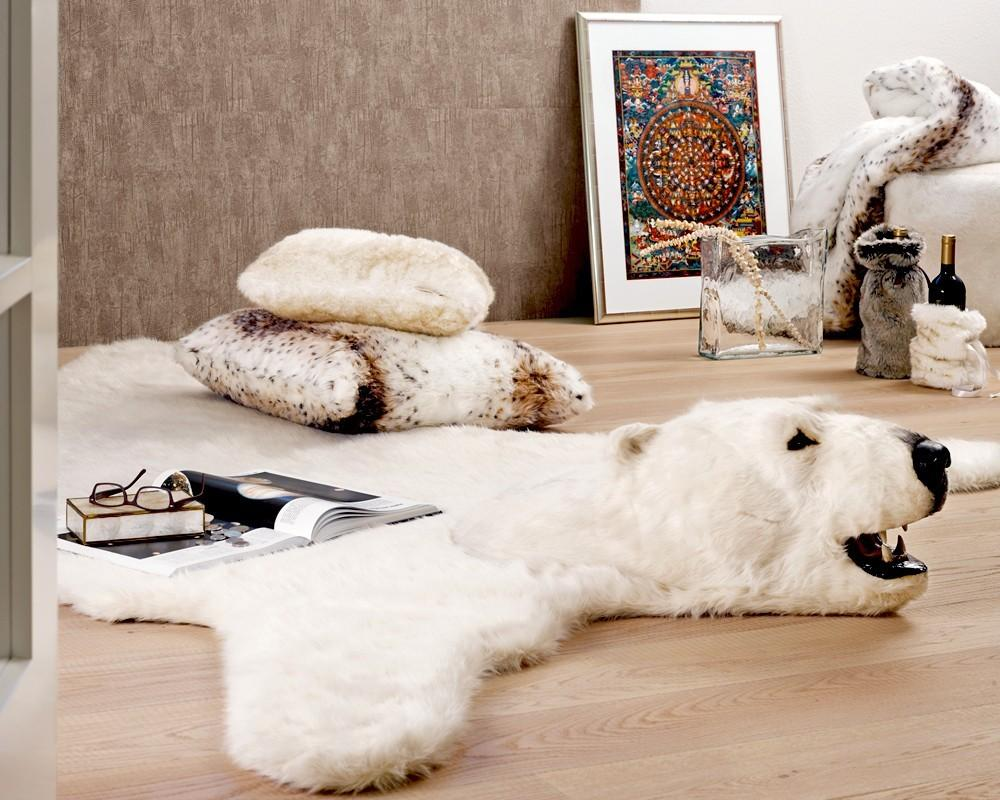 Faux Animal Rugs Head Ideas