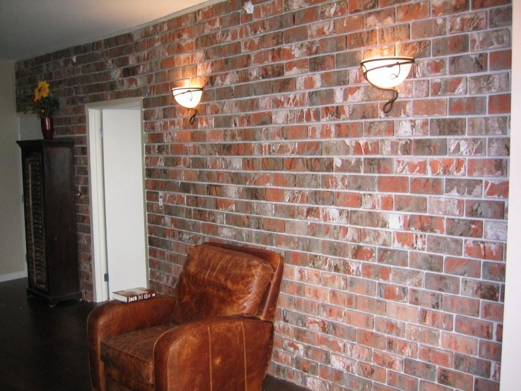 Faux Brick Interior Wall Smalltowndjs