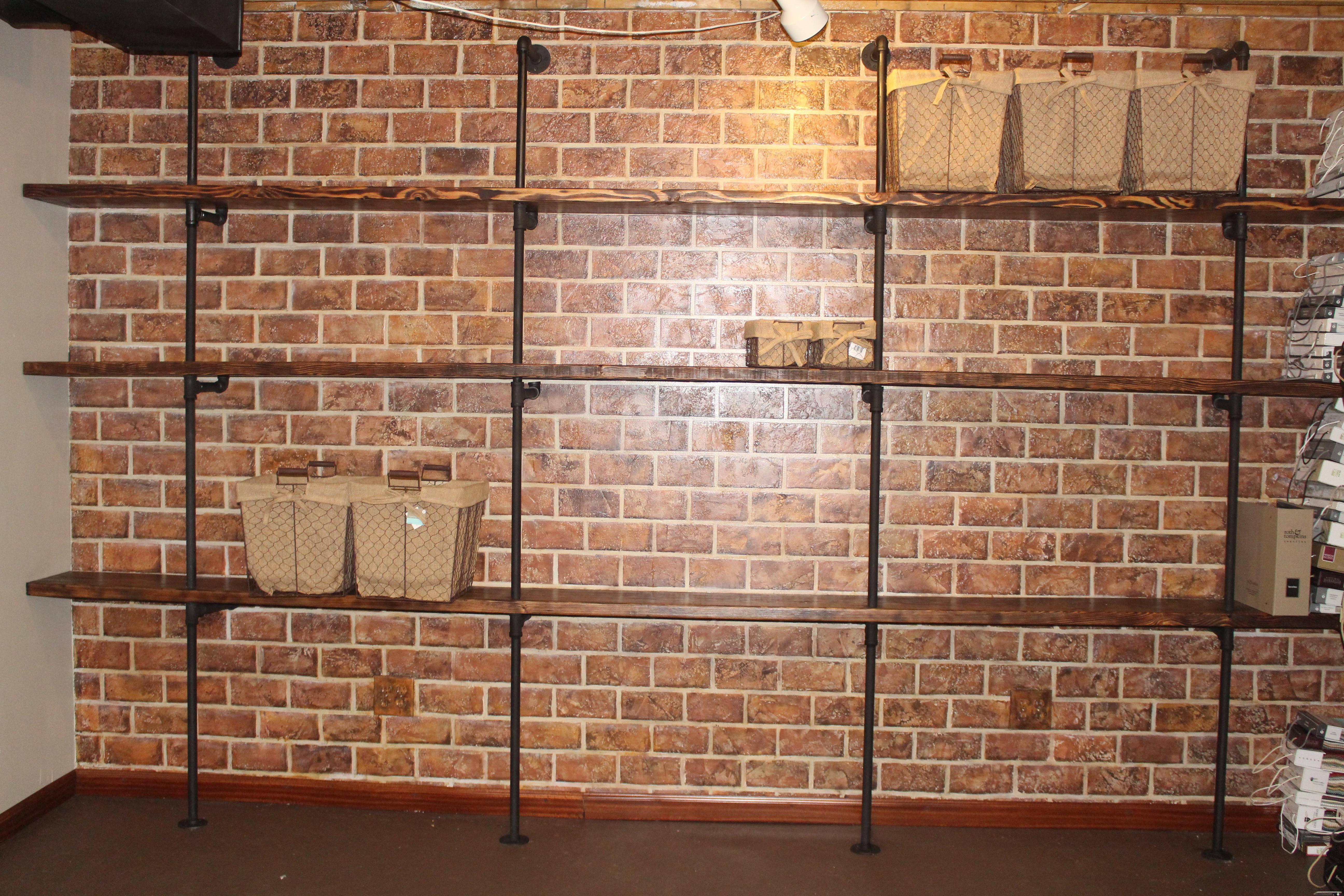Faux Brick Wall Diy Definitions Interiors