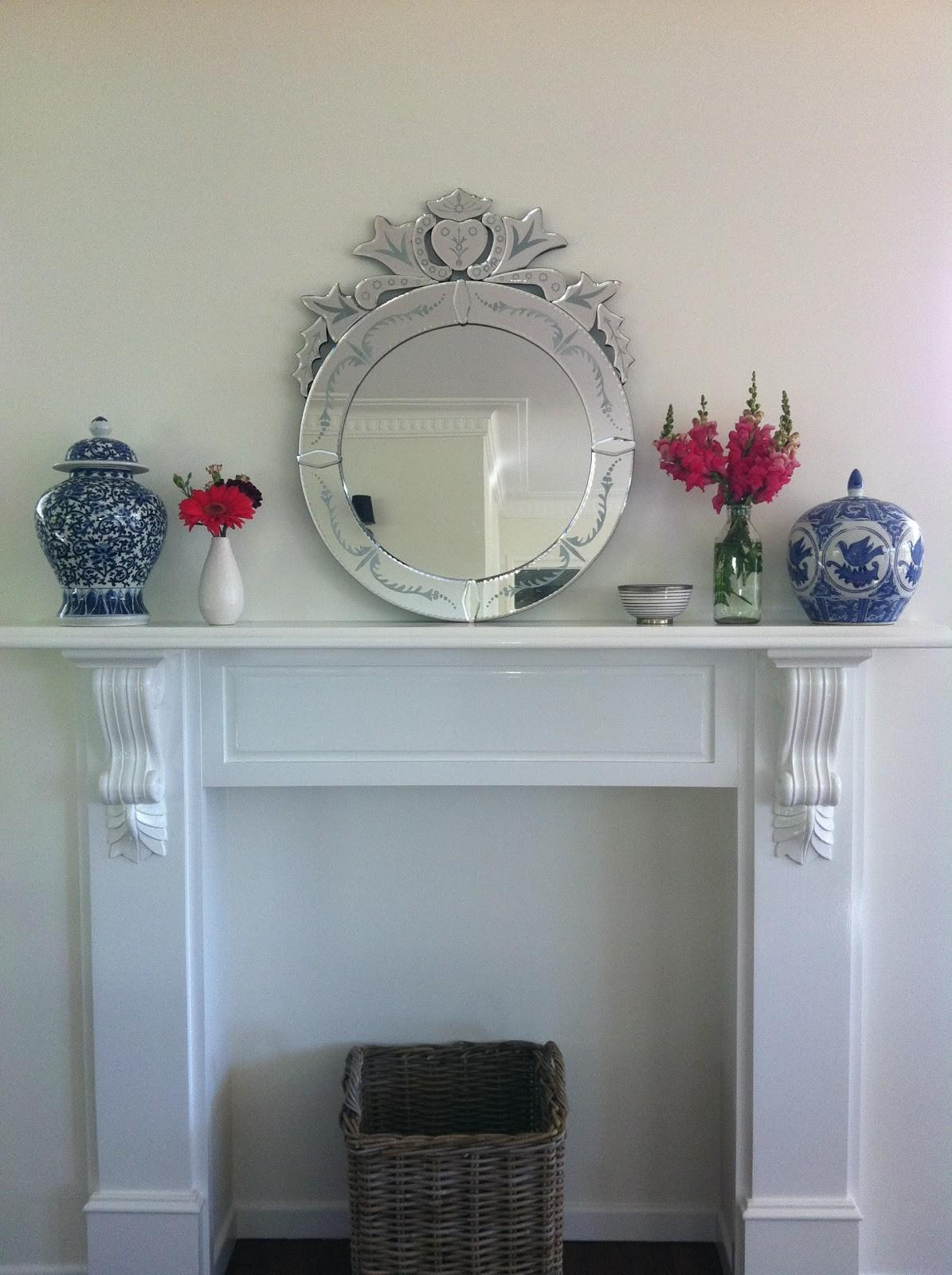 Faux Fireplace Mantels