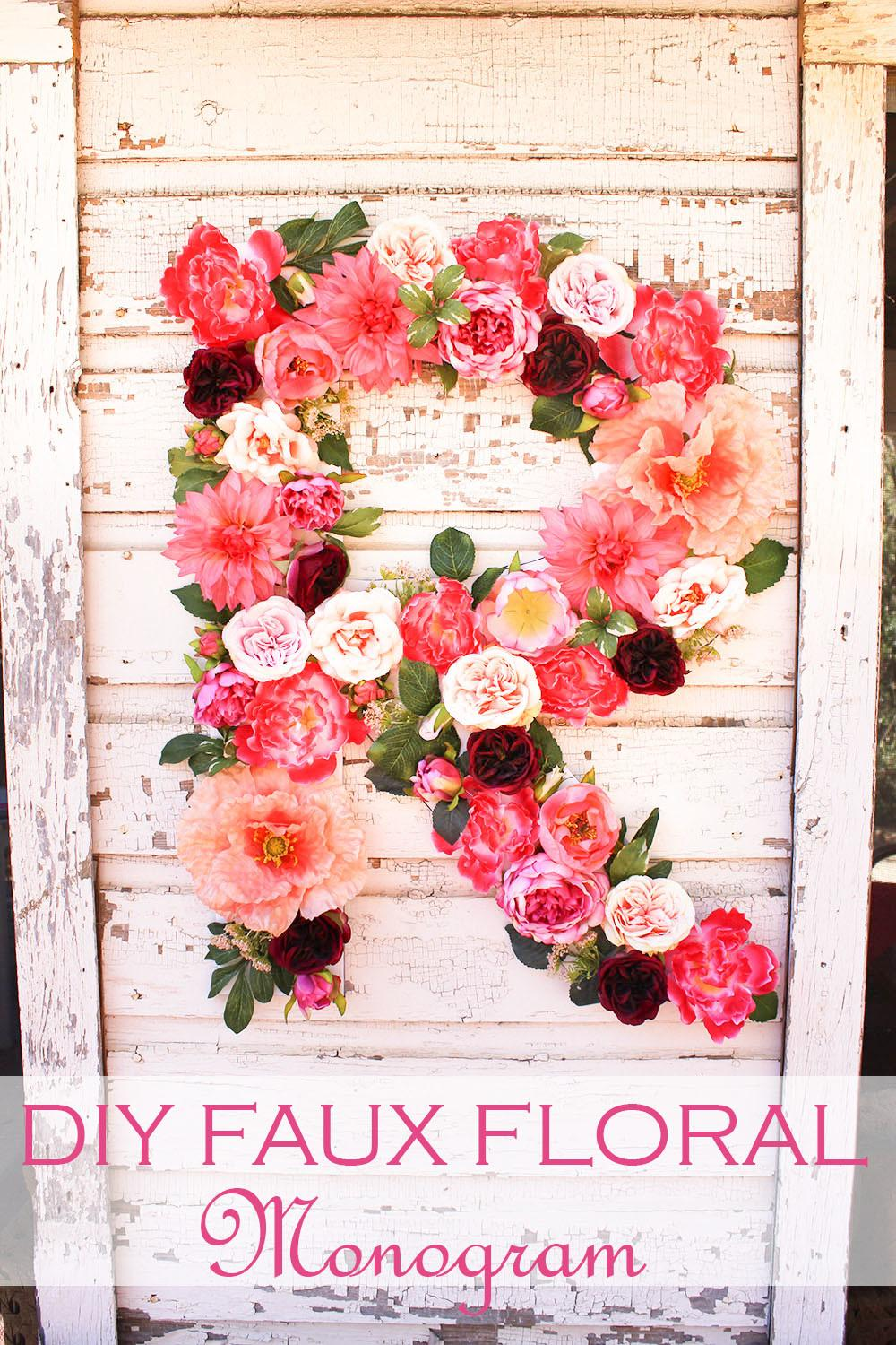 Faux Floral Diy Tutorial Silk Arrangement