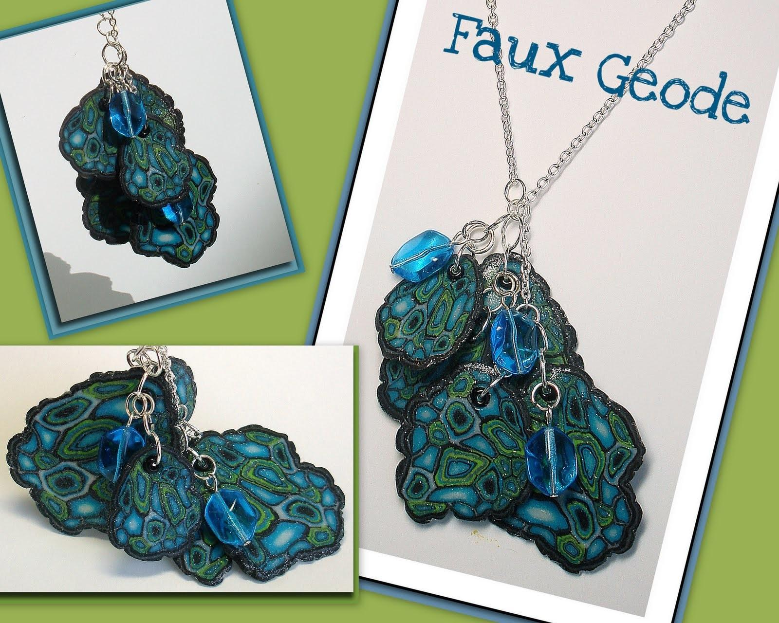 Faux Geodes Continued Polymer Clay Ideas Beadazzle