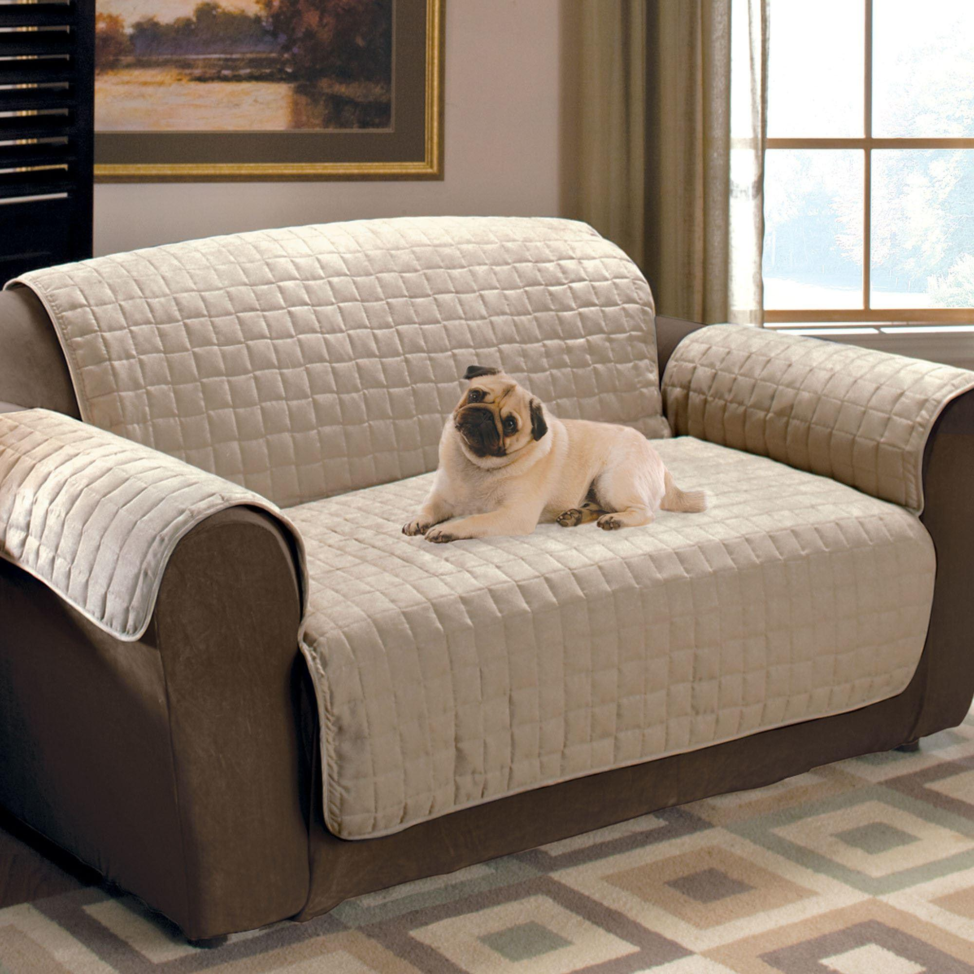 Faux Suede Pet Furniture Covers Sofas Loveseats