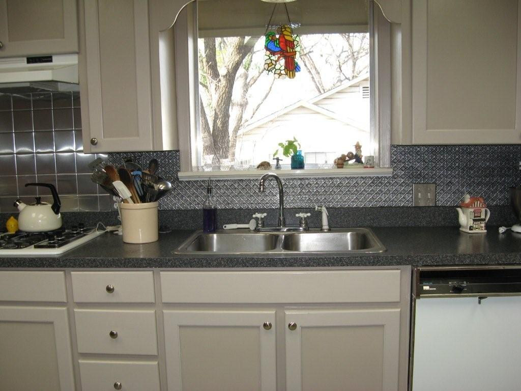 - Faux Tin Backsplash Leon Texas Decorative Ceiling - Decoratorist