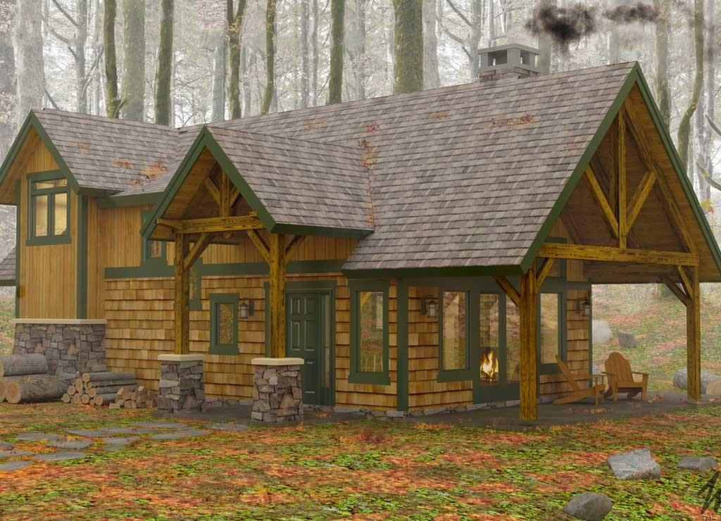 Featured House Month Sylvan Cottage Woodhouse