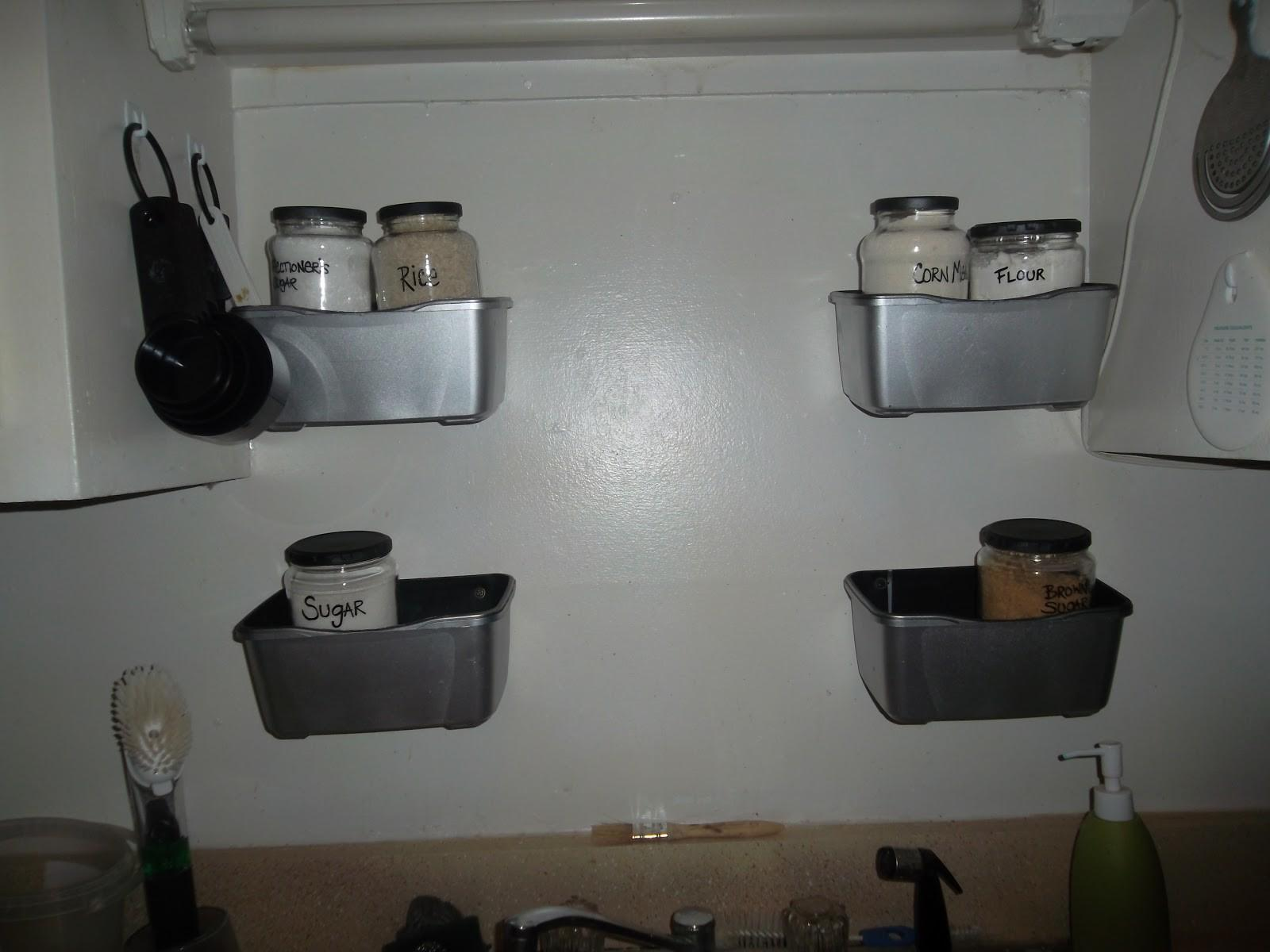 Feeding Family One Butt Kitchen Diy Canisters