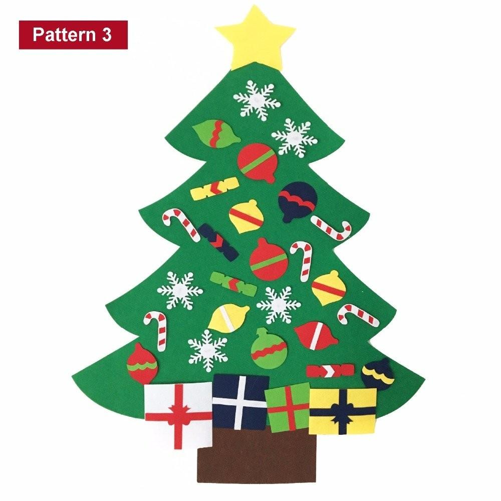 Felt Christmas Tree 2017 Best Template Idea