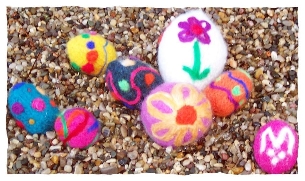 Felted Twice Easter Eggs Live Knit Love Craftsy