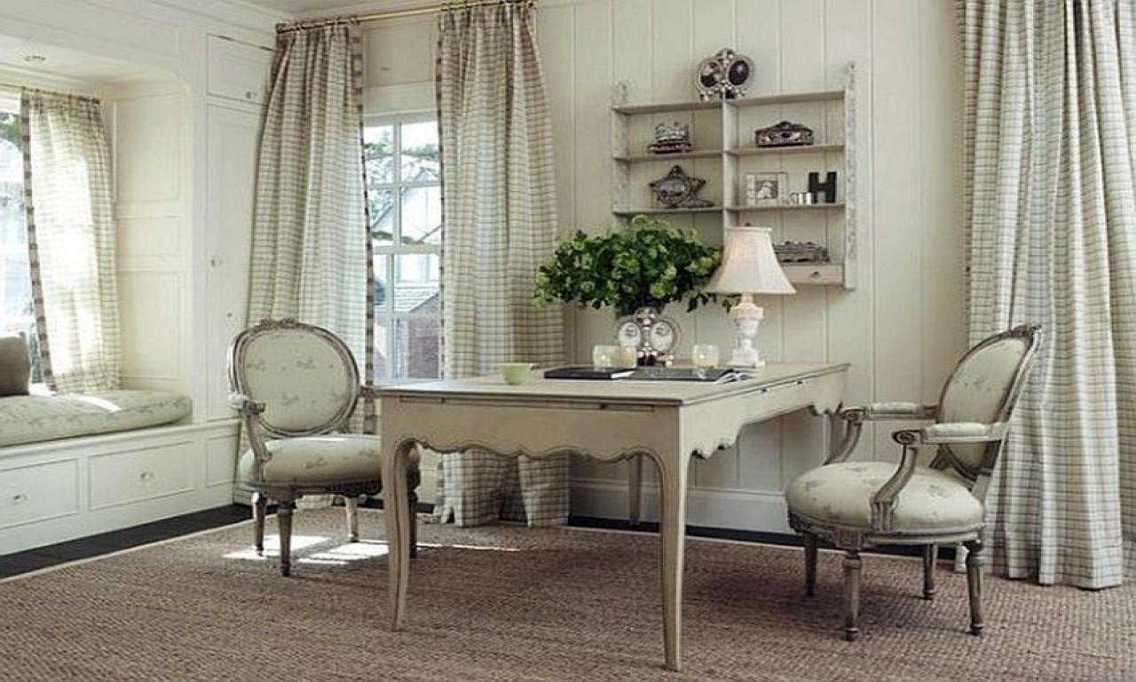 Feminine Office Furniture Country Style Home