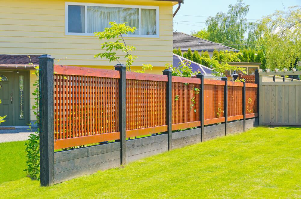 Fence Designs Ideas Backyard Front Yard