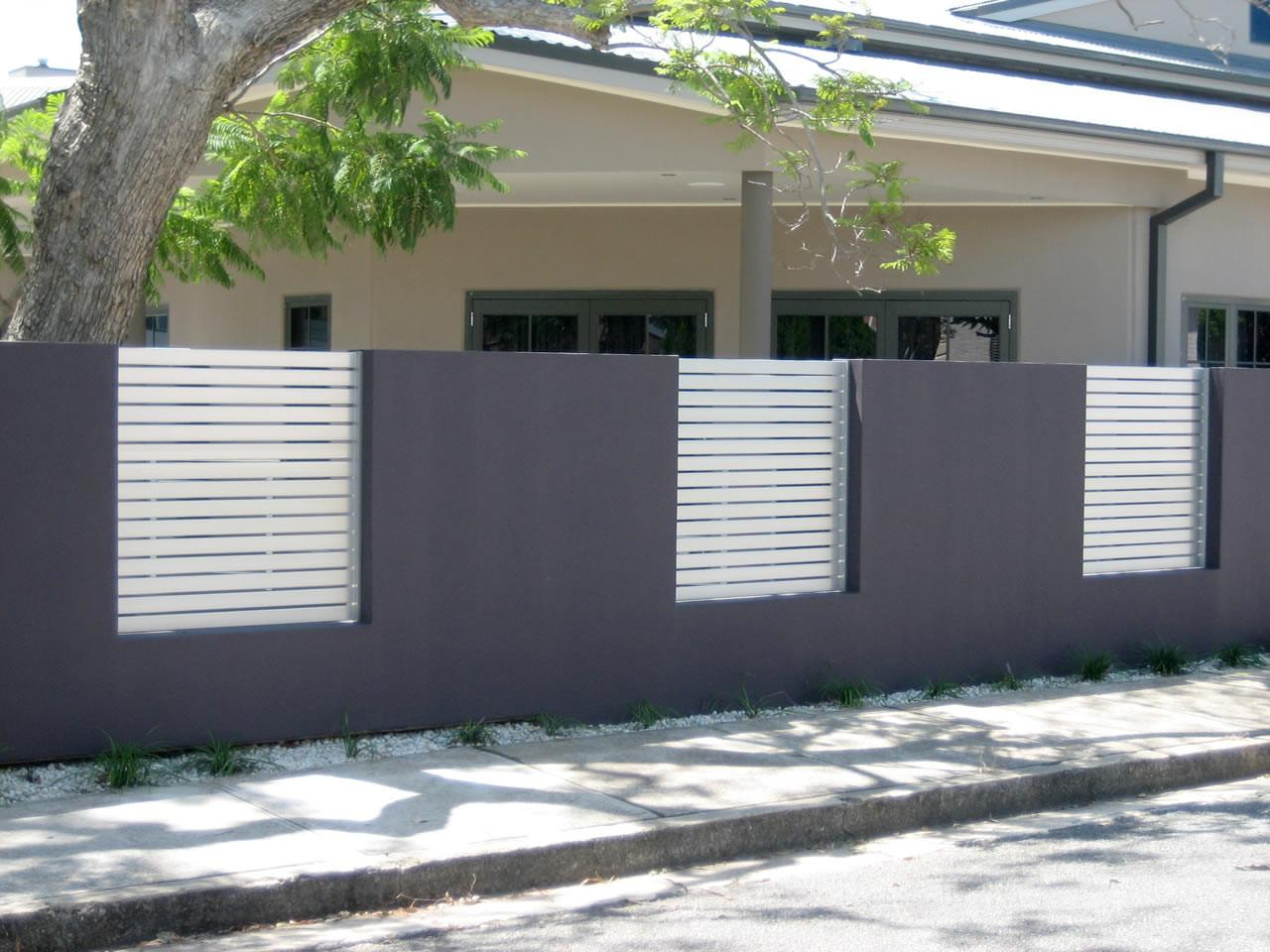 Fence Ideas Modern Home Exterior Minimalist House
