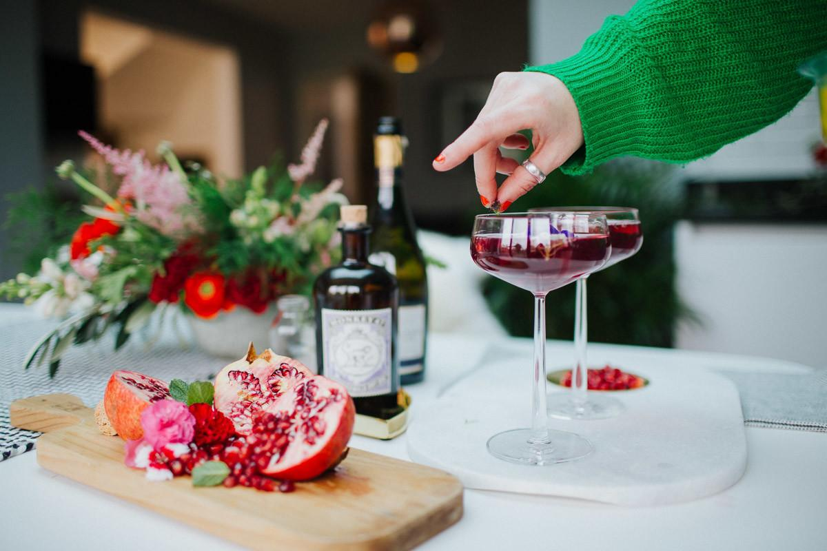 Festive Dinner Party Ideas Seasonal Food Gin