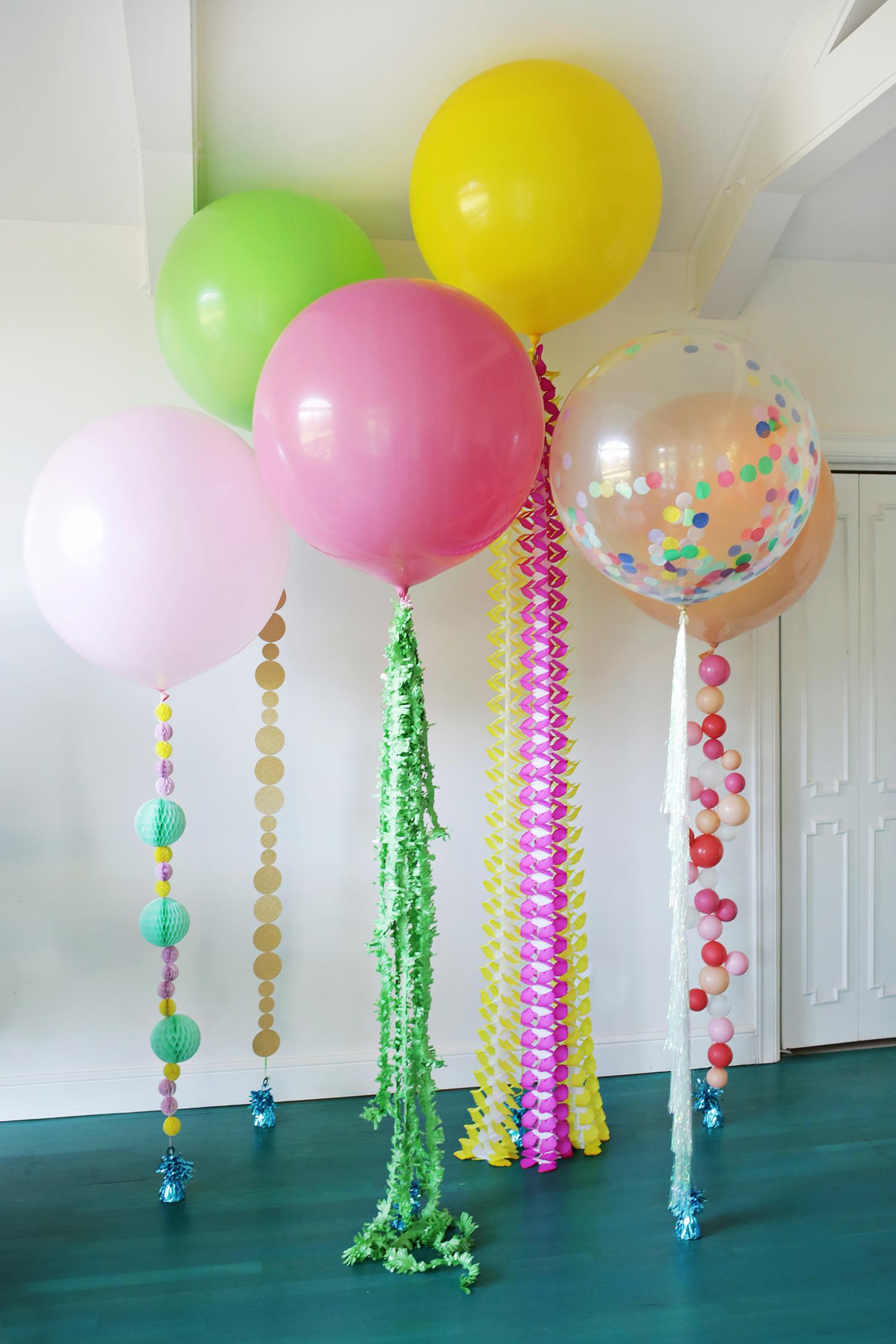 Festive Diy Balloon Tails Clever Crafty